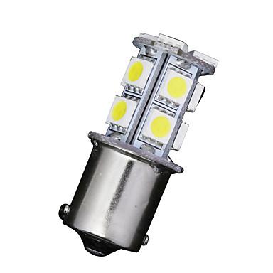 10 x witte 1156 BA15S 13-SMD 5050 LED-lampen richtingaanwijzer backup keren 12v