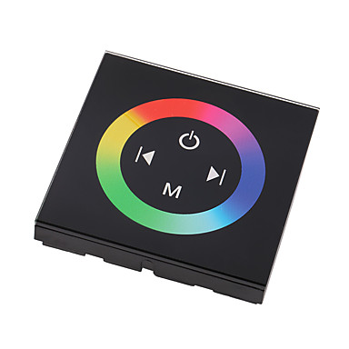 színes RGB érintőpanel vezérlő dc12-24v max 12a