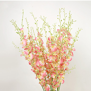 Sztuczne Kwiaty 1 Gałąź Pasterski Styl Jaskier Bukiety na stół