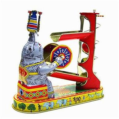 Labdák Felhúzós játék Játékok Újdonságok Lakberendezési cikkek Elefánt Fém Vintage 1 Darabok Karácsony Születésnap Gyermeknap Ajándék