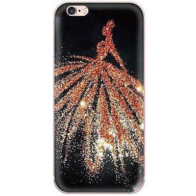 용 아이폰6케이스 / 아이폰6플러스 케이스 충격방지 / 방진 / 투명 / 패턴 케이스 뒷면 커버 케이스 섹시 레이디 하드 PC Apple iPhone 6s Plus/6 Plus / iPhone 6s/6 / iPhone SE/5s/5