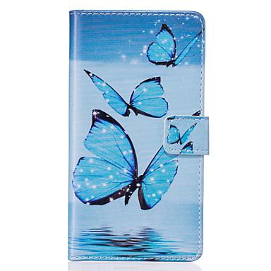 Mert Huawei tok P9 P9 Lite P8 Lite tokok Pénztárca Kártyatartó Állvánnyal Flip Teljes védelem Case Más Puha Műbőr Bőr mert HuaweiHuawei