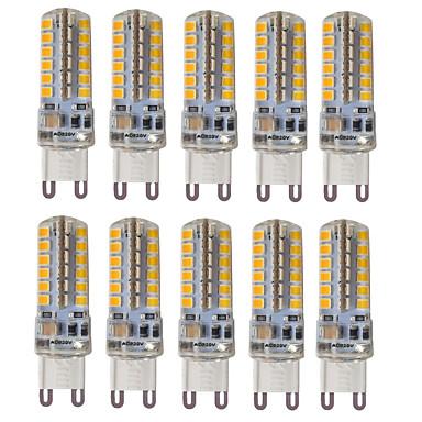 hkv® g9 3w 300-350 lm ledes kétpólusú lámpák 48 smd 2835 meleg fehér hideg fehér természetes fehér ac 110 / 220v 10db