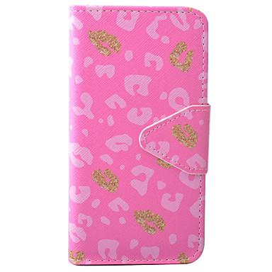 Mert iPhone 7 tok / iPhone 6 tok Pénztárca / Kártyatartó / Állvánnyal / Flip / Minta / Mágneses / Dombornyomott Case Teljes védelem Case