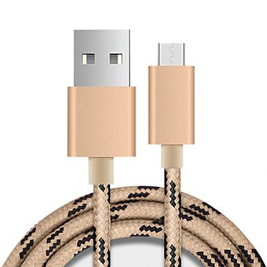 마이크로 USB 3.0 기본제품 케이블 제품 Huawei Sony Nokia HTC Motorola LG Xiaomi 100 cm 나일론