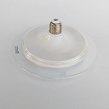 zdm 18w e26 / e27 1800lm akril keret UFO megjelenés LED izzó meleg fehér / hideg fehér ac220-240v