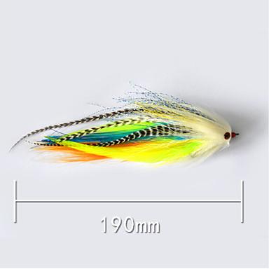 개 낚시 미끼 하드 베이트 g/온스,190 mm/7-3/4