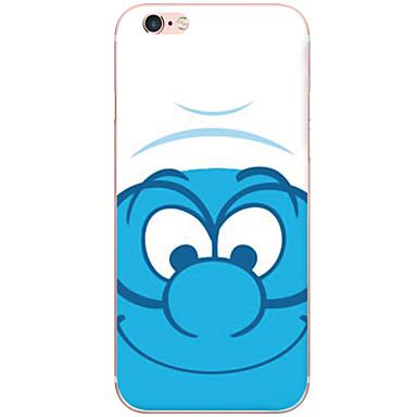 Mert iPhone 6 tok / iPhone 6 Plus tok Ütésálló / Porálló / Átlátszó / Minta Case Hátlap Case Rajzfilmfigura Kemény PC AppleiPhone 6s