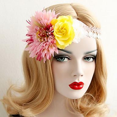 아름다운 꽃 보헤미아는 여성 결혼 파티, 휴일, 머리 보석 꽃 화환 헤드 밴드 장미