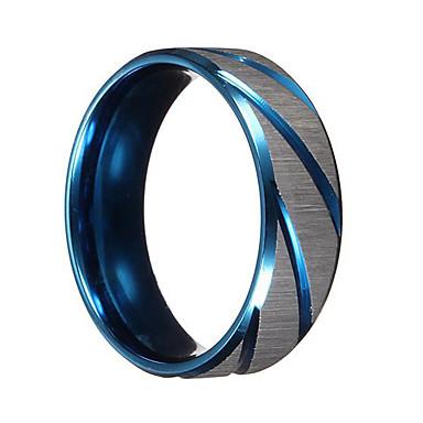 Férfi Band Ring - Személyre szabott, Vintage, Punk 6 / 7 / 9 Kék Kompatibilitás Karácsonyi ajándékok / Esküvő / Parti