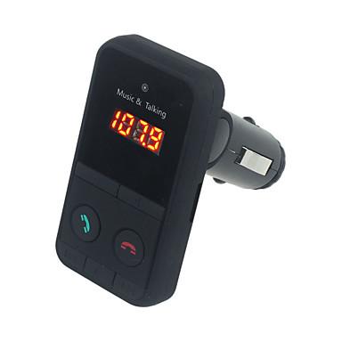 viszont ingyenes vezeték nélküli bluetooth fm transmitter modulátor autótelefon mp3 lejátszó LCD távfelügyelet autó zenelejátszó