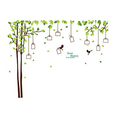 애니멀 / 보태니컬 / 크리스마스 벽 스티커 플레인 월스티커 데코레이티브 월 스티커,PVC 자료 재부착가능 / 물 세탁 가능 / 이동가능 홈 장식 벽 데칼