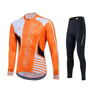 Sportowy Rower/Kolarstwo Bluza Dresowa / Koszulka / Topy Damskie / Męskie / Uniseks Długi rękawOddychający / Quick Dry / Przód Zipper /