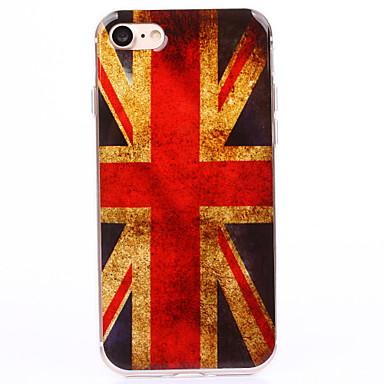 용 아이폰7케이스 / 아이폰7플러스 케이스 / 아이폰6케이스 투명 / 패턴 케이스 뒷면 커버 케이스 국기 소프트 TPU Apple아이폰 7 플러스 / 아이폰 (7) / iPhone 6s Plus/6 Plus / iPhone 6s/6 /