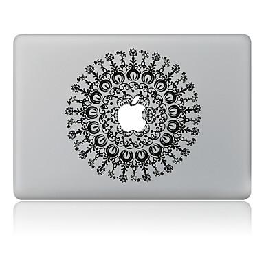 1 szt. Naklejka na obudowę na Odporne na zadrapania Kwiaty Wzorki PVC MacBook Pro 15'' with Retina MacBook Pro 15'' MacBook Pro 13'' with