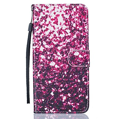 용 아이폰7케이스 / 아이폰7플러스 케이스 지갑 / 카드 홀더 / 스탠드 케이스 풀 바디 케이스 컬러 그라데이션 하드 인조 가죽 Apple 아이폰 7 플러스 / 아이폰 (7)