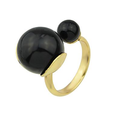 Gyűrűk Divat Parti / Napi Ékszerek Ötvözet Női Vallomás gyűrűk 1db,9 Aranyozott