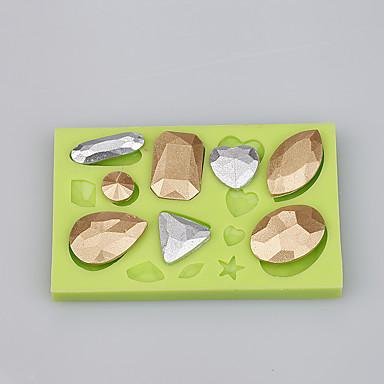 élelmiszer minőségű szilikon formájú vízcsepp alakú fondant torta díszítő penész Ramdon színe