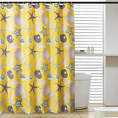 1db Zuhanyfüggönyök Modern Poliészter Fürdőszoba