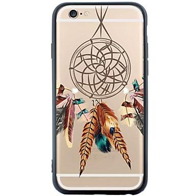 용 아이폰6케이스 / 아이폰6플러스 케이스 방진 / 패턴 케이스 뒷면 커버 케이스 포수 드림 소프트 TPU Apple iPhone 6s Plus/6 Plus / iPhone 6s/6 / iPhone SE/5s/5