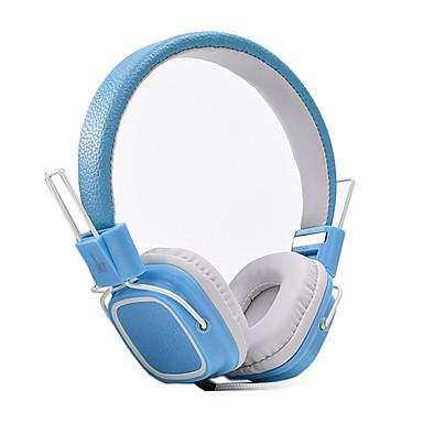 JKR JKR-112 A fülön Fejpánt Vezetékes Fejhallgatók Dinamikus Műanyag Mobiltelefon Fülhallgató Zajszűrő Mikrofonnal HI-FI Fejhallgató