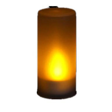 1pc Lume di candela Batteria Con sensore