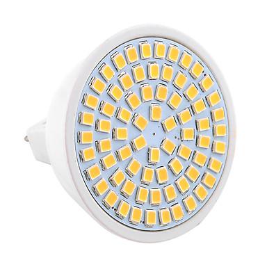 ywxlight® 7w gu5.3 (mr16)는 스포트라이트를지도했다 mr16 72 smd 2835 600-700 lm 온난 한 백색 찬 백색 훈장 9-30 v