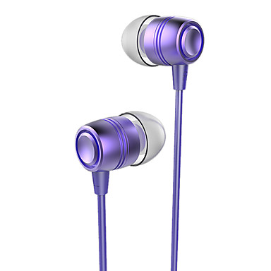 CSONG Q12 Fülben Vezetékes Fejhallgatók Dinamikus Mobiltelefon Fülhallgató Zajszűrő Mikrofonnal A hangerőszabályzóval Fejhallgató