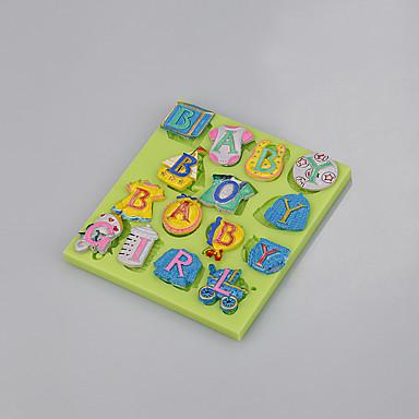 reposteria fondant torta dekoráció szerszámformát bébi termékek alakja levél élelmiszer minőségű színes random