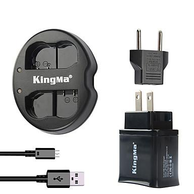 USB 어댑터 플러그 전원과 니콘 배터리와 니콘 D7000의 D7100 / 종족 / D600 / d600e / D600에 대한 kingma 듀얼 USB 충전기