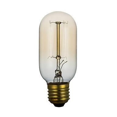 BriLight 1pc 40G E27 E26/E27 T45 Sıcak Beyaz 2300 K Incandescent Vintage Edison Ampul AC 220V AC 220-240V V