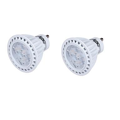 GU10 LED szpotlámpák MR16 5 led SMD 2835 Dekoratív Meleg fehér Hideg fehér 330lm 3000/6000K AC 85-265 AC 220-240 AC 110-130V