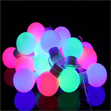 Łańsuchy świetlne 40 Diody LED Ciepła biel Przysłonięcia Zmieniająca Kolor <5V