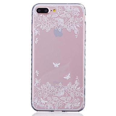 Mert iPhone 7 tok / iPhone 7 Plus tok / iPhone 6 tok Minta Case Hátlap Case Pillangó Puha TPU AppleiPhone 7 Plus / iPhone 7 / iPhone 6s