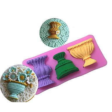 Bakeware 도구 실리콘 환경친화적인 / 넌스틱 / 베이킹 도구 브레드 / 케이크 / 쿠키 케이크 주형