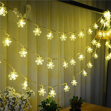 스트링 조명 100 LED 따뜻한 화이트 리모콘 밝기조절가능 방수 색상-변화 연결가능 220v