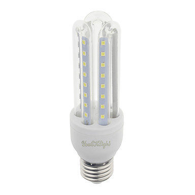 E26/E27 LED kukorica izzók T 48 led SMD 2835 Dekoratív Meleg fehér Hideg fehér 750lm 3000/6000K AC 85-265V