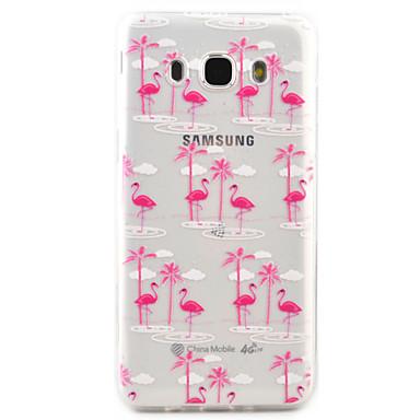 Case Kompatibilitás Samsung Galaxy Ultra-vékeny Minta Fekete tok Állat Puha TPU mert J7 (2016) J5 (2016) J3 (2016) J3