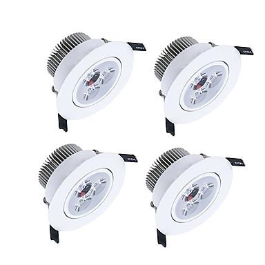 450-550lm 3 LED Tompítható LED mélysugárzók Meleg fehér Hideg fehér Természetes fehér