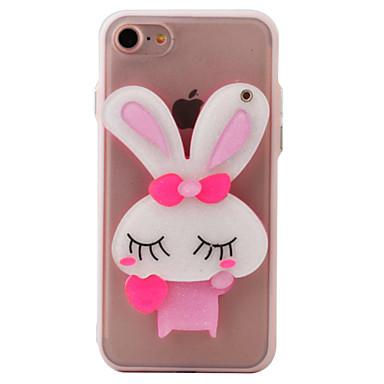 케이스 제품 iPhone 7 Plus iPhone 7 iPhone 6s Plus iPhone 6 Plus iPhone 6s 아이폰 6 Apple iPhone 6 iPhone 7 Plus iPhone 7 거울 패턴 뒷면 커버 카툰 하드 아크릴 용