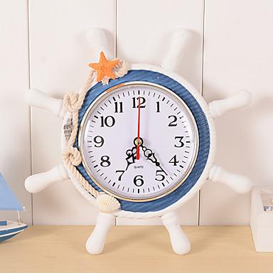 시계 알람시계 앤티크 캐쥬얼 전통적인 오피스 / 비지니스 레트로 모던 / 콘템포라리 나무 플라스틱 라운드