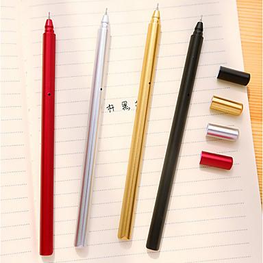 Στυλό Στυλό Στιλό Ζελέ Στυλό, Πλαστική ύλη Κόκκινο / Μαύρο / Μπλε μελάνι Χρώματα Για Σχολικές προμήθειες Προμήθειες γραφείου Πακέτο