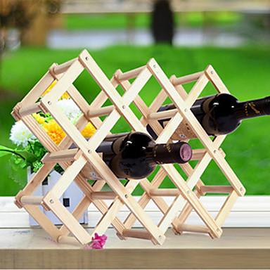 Kreative Küche Holz Kunst Weinregal Grogshop Restaurant Dekoration