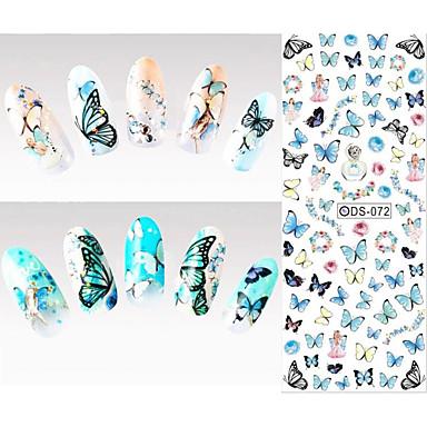 1 pcs 패션 물 이동 스티커 일상