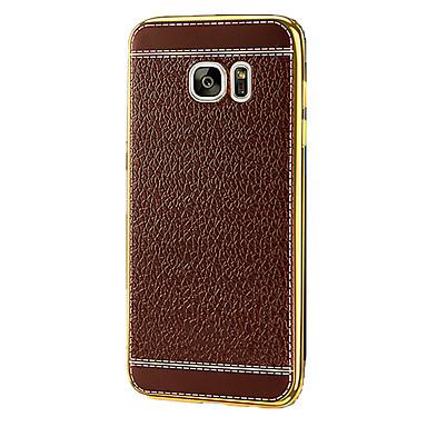 케이스 제품 Samsung Galaxy S7 edge S7 도금 뒷면 커버 한 색상 소프트 TPU 용 S7 plus S7 edge plus S7 edge S7