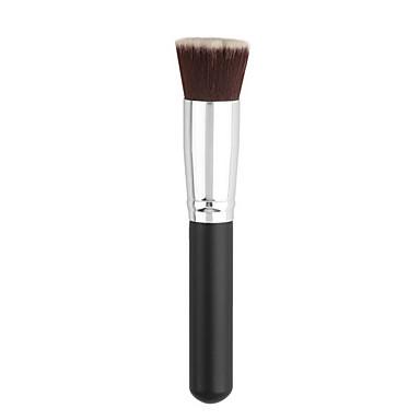 1db kozmetikai smink ecset fekete alapot kefe puha szintetikus haj