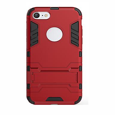 Voor iPhone 7 hoesje / iPhone 7 Plus hoesje / iPhone 6 hoesje / iPhone 6 Plus hoesje Schokbestendig / met standaard / met venster hoesje