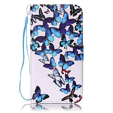 Case For Samsung Galaxy S7 edge S7 Card Holder Wallet with Stand Full Body Cases Butterfly Hard PU Leather for S7 edge S7 S6 edge S6 S5