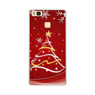 케이스 제품 화웨이 P9 화웨이 P9 라이트 화웨이 P8 Huawei 화웨이 P8 라이트 패턴 뒷면 커버 크리스마스 소프트 TPU 용 Huawei P9 Lite Huawei P9 Huawei P8 Lite Huawei P8 Huawei