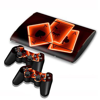 お買い得  PS3 用アクセサリー-B-SKIN B-SKIN USB ステッカー 用途 Sony PS3 、 アイデアジュェリー ステッカー ビニール 1 pcs 単位